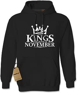 kings are born in november sweatshirt