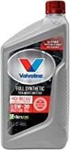 Valvoline  Full Synthetic High Mileage with MaxLife  Technology SAE 5W-30 Motor Oil 1 QT