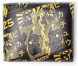 Bioworld Pikachu Manga Porte-Monnaie 2 Volets 16 cm Noir