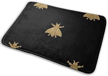 """Napoleonic Bees Doormat Non Slip Indoor/Outdoor Door Mat Floor Mat Home Decor, Entrance Rug Rubber Backing Large 23.6""""(L)"""