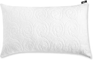 Allo Shredded Memory Foam Pillow, Adjustable Hypoallergenic Infused Fill Bed Pillow, Removable Bamboo Derived Rayon Cover (1 Pack, King)