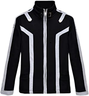 Anime Sword Art Online SAO Kirito Warm Thicken Jacket Hoodie Outfit Coat Cosplay Costume