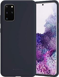 Goospery Funda de silicona líquida para Samsung Galaxy S20 Plus (2020) Jelly Rubber Bumper Case con suave forro de microfi...