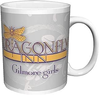 Gilmore Girls Dragonfly Inn Logo Comedy Drama TV Television Show Ceramic Gift Coffee (Tea, Cocoa) Mug, 11 Ounce