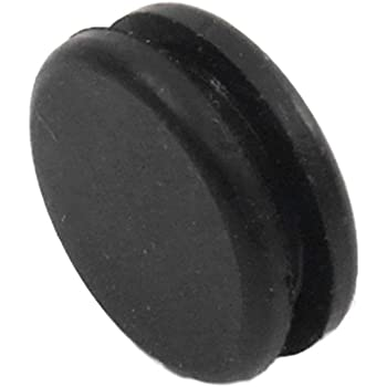 """Knock Out 1//2/"""" Solid Grommet Fits 1//2/"""" Hole /& 1//8/"""" Panel Blind Panel Plug"""