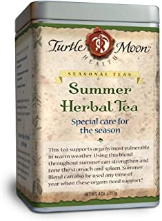 Summer Herbal Tea Blend: Loose-Leaf, Organic & Wildcrafted, Healing and Medicinal, 4 oz. Tin.