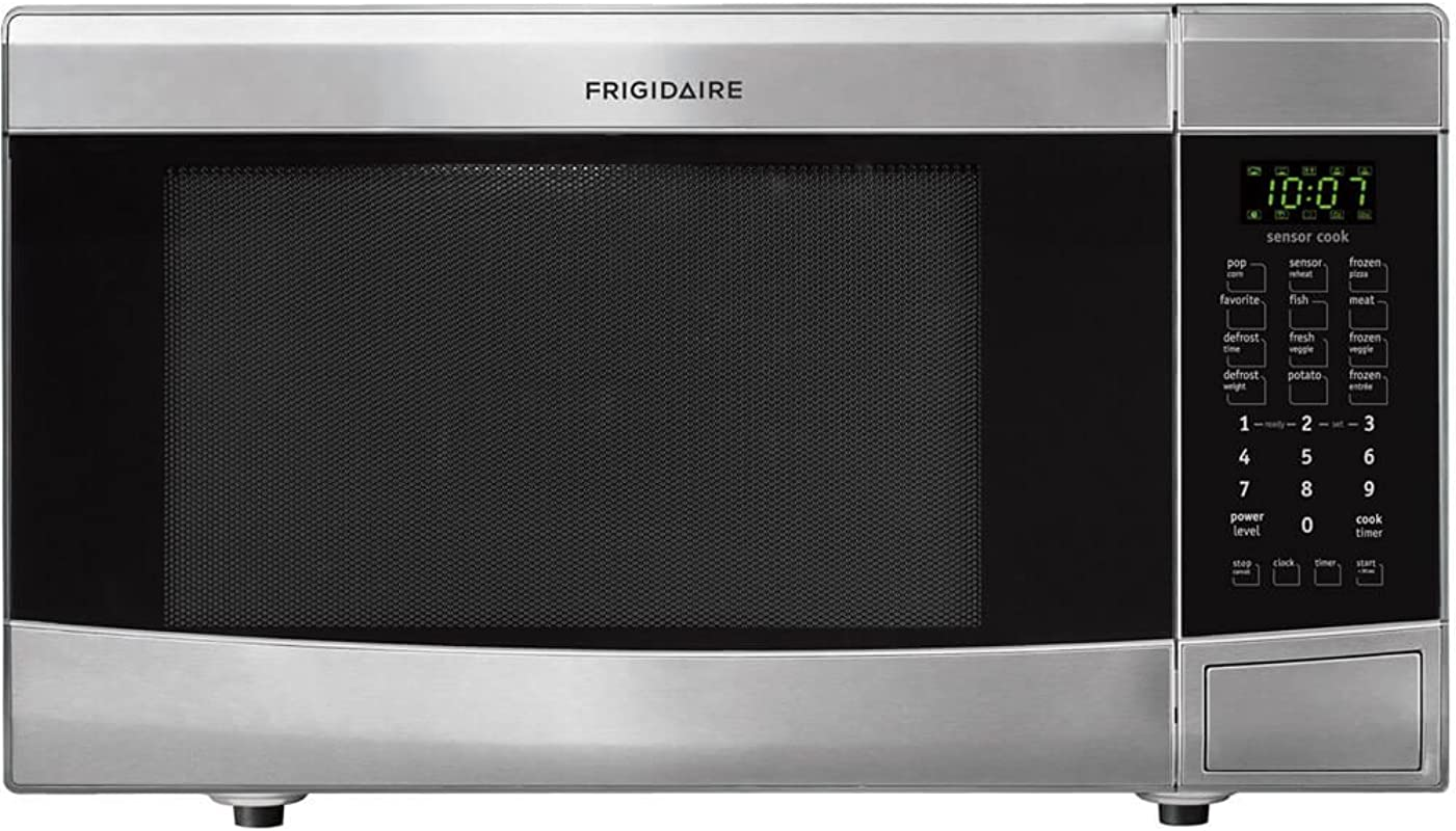 Frigidaire FFMO1611LS1 6 Cu Ft Stainless Steel Countertop Microwave