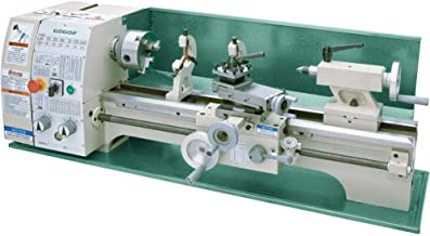 "Grizzly Industrial G0602-10"" x 22"" Benchtop Metal Lathe"