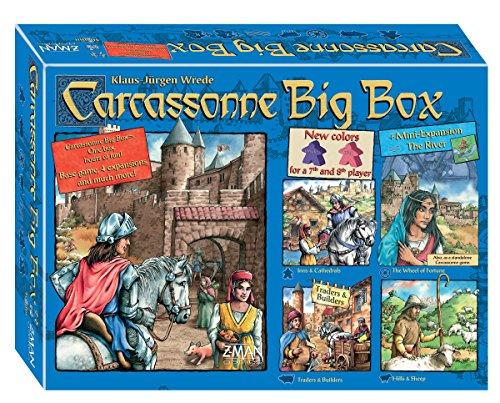 F2Z ENTERTAINMENT INC.. - 332662 - Carcassonne Big Box 5