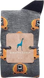 Giraffe Cool Calcetín para Hombre de Color Gris Osos