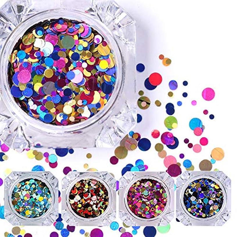 葉巻無謀盲信FidgetGear 12色ネイルスパンコールグリッターパレットラウンドネイルアートマニキュア装飾diy
