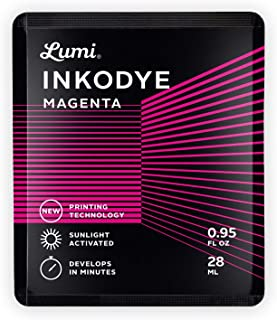 Lumi Inkodye Snap Pack .95oz Light Sensitive Dye (Magenta)