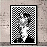 Hot Twin Peaks Film TV Shows Klassische Poster Wandkunst