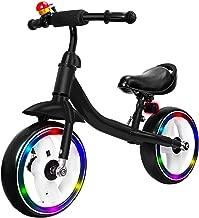 Verkstar Kids Balance Bike No Pedal Walking Sport Bicycle, Adjustable Training Toddler Bike for 2 to 6 Year Old Boys & Girls (Black)