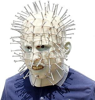 新しいホラーマスクを追うマスクハロウィンクリエイティブヘッドカバーネイルマスクヘッドギア