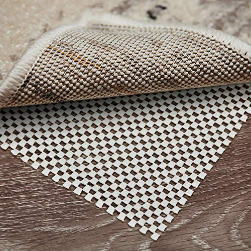 CsznPony 5 x 7 Ft Non-Slip Area Rug Pad Extra Thick Pad for Hard Surface Floors Keep Your Rugs Safe and in Place