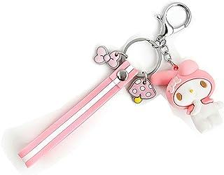 Kawaii Key Chain, My Melody Keychain, My Melody Keyring, My Melody Pink Melody Keyring, Birthday Gift Bag Accessories, Stu...