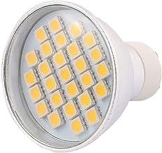 X-DREE 220V GU10 LED Light 4W 5050 SMD 27 LEDs Spotlight Down Lamp Bulb Energy Saving Warm White(Lampadina 220V GU10 LED 4...