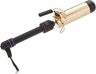 HOT TOOLS Professional 24k Gold Extra-Long Barrel Curling Iron/Wand for Long Lasting Results