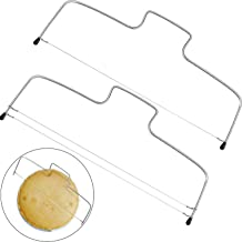 YFOX Divisor de Pastel .Cortadora de tortas,de Acero Inoxidable.Utilizado en hogares, pastelerías y postres.