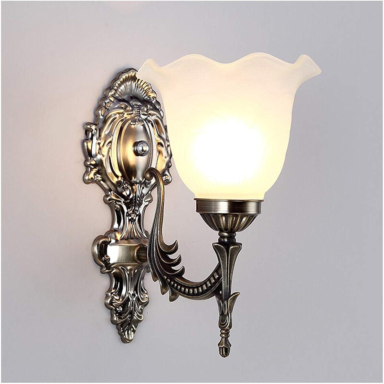 HENGXIAO-wall lamp Blütentyp Wandleuchte Wandlampe - Europischer Stil Kreativ Schlafzimmer Bettkopf Gang Treppe Wohnzimmer Leuchte [Energieklasse A++]