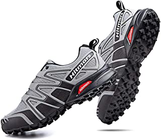 Zapatillas Trail Running Hombre Mujer Impermeables Zapatos Trekking Ligero Botas Senderismo Bajos Multideporte A Gris Tall...