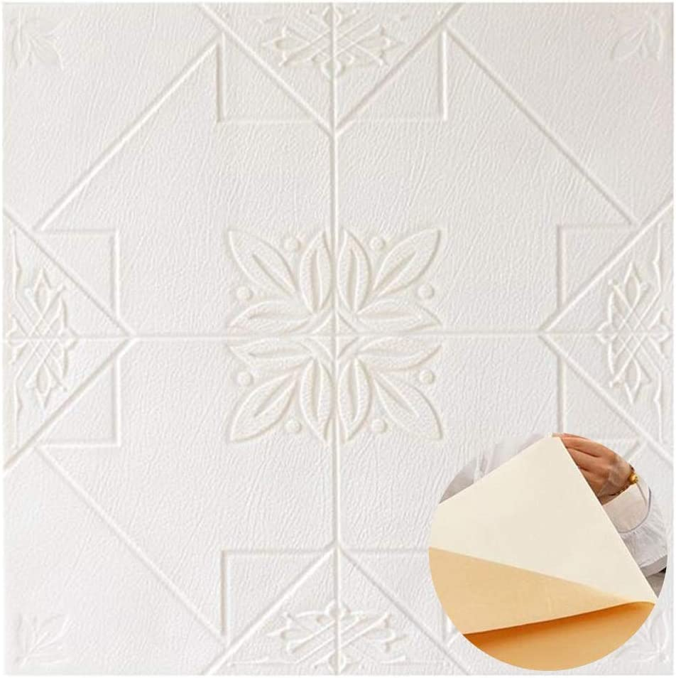 ZHANWEI 3D Max 90% OFF Wall Panels Cash special price Self-Adhesive Thicken Wate Foam Wallpaper