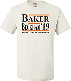 Adult Baker Beckham 2019 Making Cleveland Great Again T-Shirt