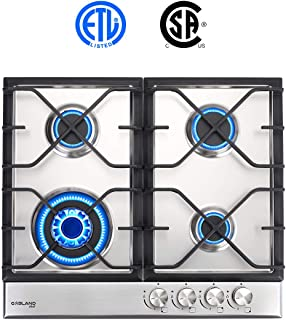 Best stoves stainless steel gas hob Reviews