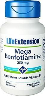 Life Extension - Mega Benfotiamine - 250 Mg - 120 Vcaps (Pack of 4)