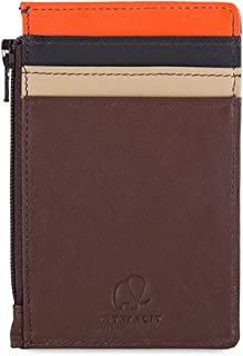 mywalit Women's Credit Card Holder W/Coin Purse Brown