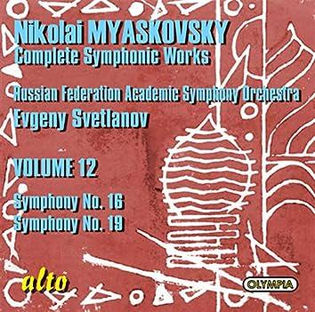 Myaskovsky: Symphonies Nos. 16 & 19