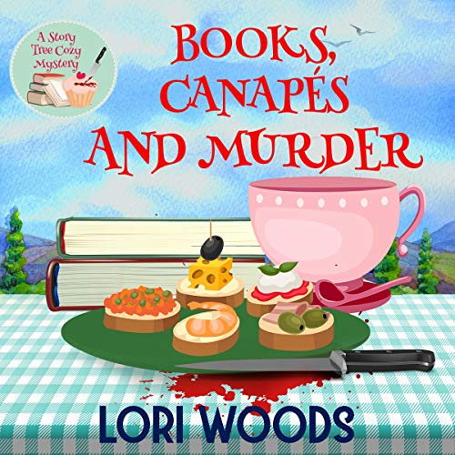 Books, Canapés and Murder audiobook cover art