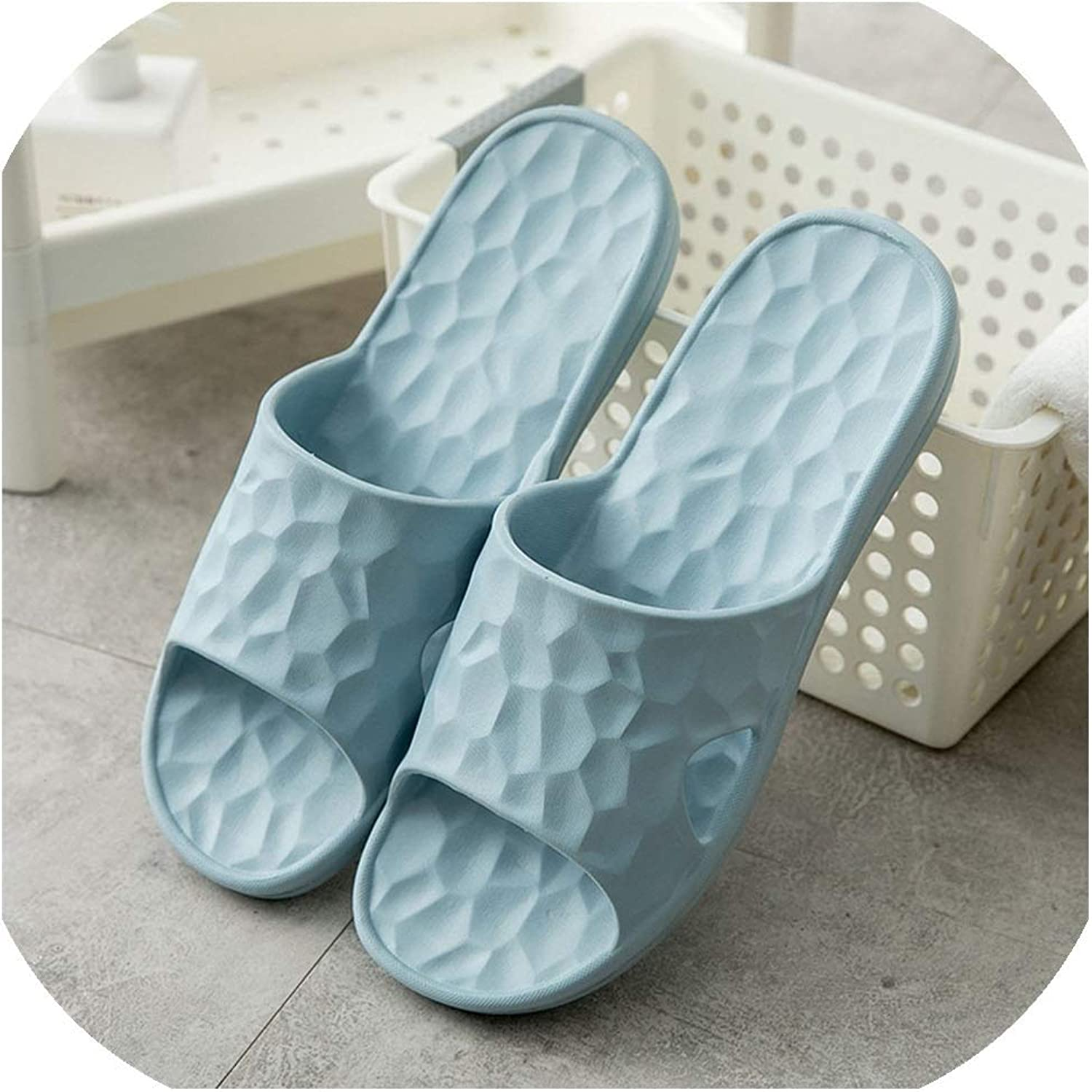 Women Home Slippers Flat shoes Woman Casual Slides Unisex Indoor Bathroom Slipper Non-Slip,