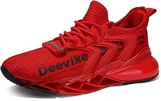 Deevike Laufschuhe Herren Damen Sneaker Sportschuhe Turnschuhe Atmungsaktiv Schuhe EU36-47