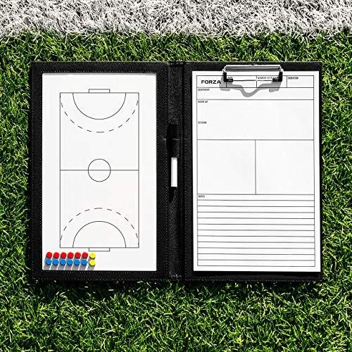 FORZA Pizarras Tácticas de Balonmano para Entrenadores – Pizarra Blanca de Estrategia para Entrenamientos de Balonmano (Variedad de Estilos) (Carpeta de Formato A4)
