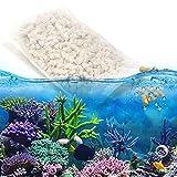 Weikeya Material de filtración de Acuario Estable, Permeabilidad al Agua Área de Superficie Inmunidad de Pescado Master Pet Supply de plástico de polímero para el Tanque de Peces de Acuario