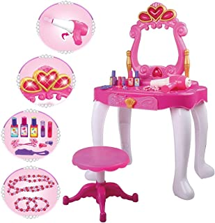 Specchiera GIOCATTOLO bambine specchiera principessa GRANDE e accessori h.70 cm Speelgoed en spellen