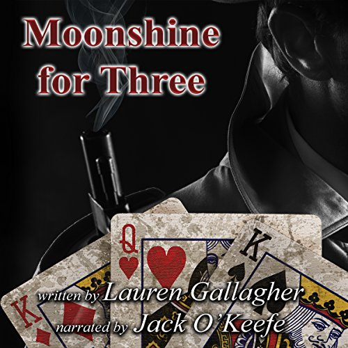 Moonshine for Three audiobook cover art