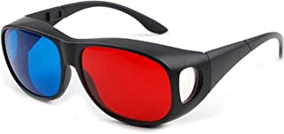 Red-Blue/Cyan Anaglyph 3D Glasses 3D Movie Game-Extra Upgrade Style 2Pcs in