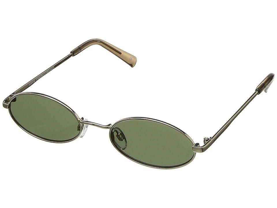 Le Specs Love Train (Bright Gold) Fashion Sunglasses