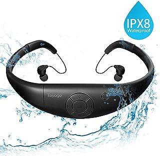 comprar comparacion IPX8 Mp3 Acuatico, 8gb Auriculares De Natación, Funcionan Durante 6-8 Horas Bajo El Agua 3 Metros con Función Aleatoria - ...