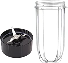 16oz Cup and Replacement Blade for Magic Bullet Blender Set - Accessory Part Compatible with Original Magic Bullet Blender (1, Cup & Blade)