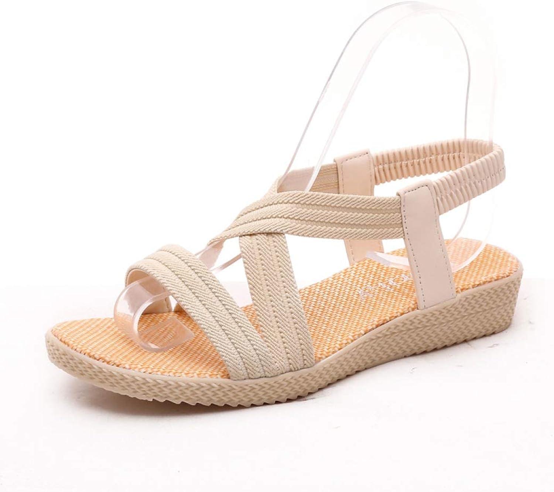Women Bohemia Comfortable Ladies Beach Gladiator Sandals Woman Casual Female Flat Sandals Fashion shoes