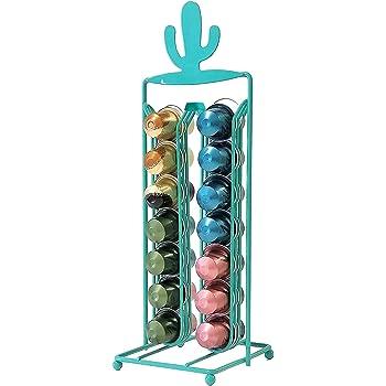 Percilun Dispensador Capsulas Nespresso de Diseño Decorativo Cactus, Soporte Capsulas Nespresso Color Verde, Porta Capsulas Nespresso Soporte: Amazon.es: Hogar