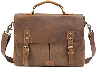 Canvas Backpack Screwball Horse Leather Leather laptop bag Travel Shoulder Messenger Leather laptop bag For Men And Women JUYOUSHENGKEJI