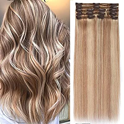 Clip in Extensions Set