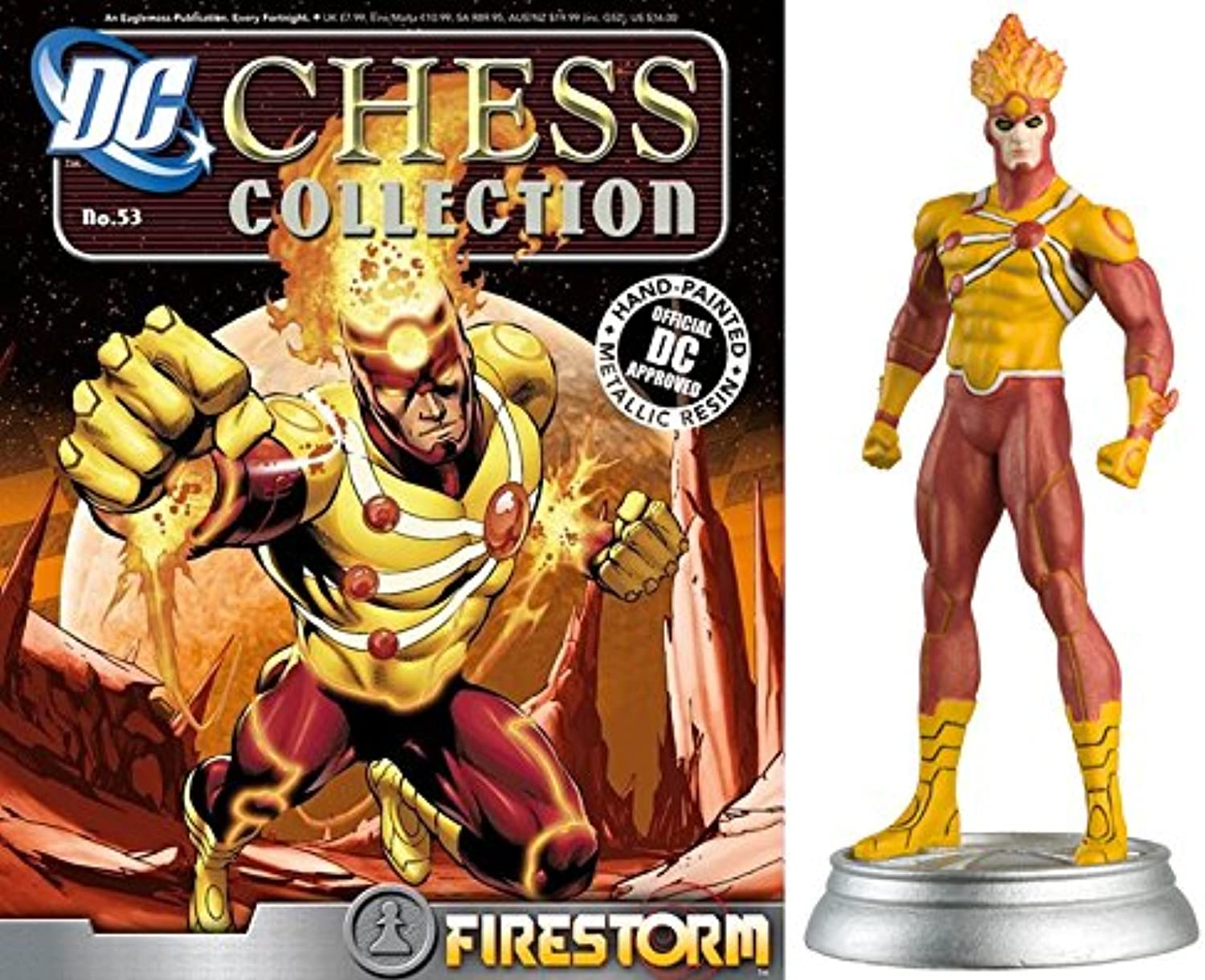 Figuren des Schachspiels Harz DC Comics Chess Collection Nº 53 Firestorm B01MYBTY0I Sonderpreis  | Überlegen