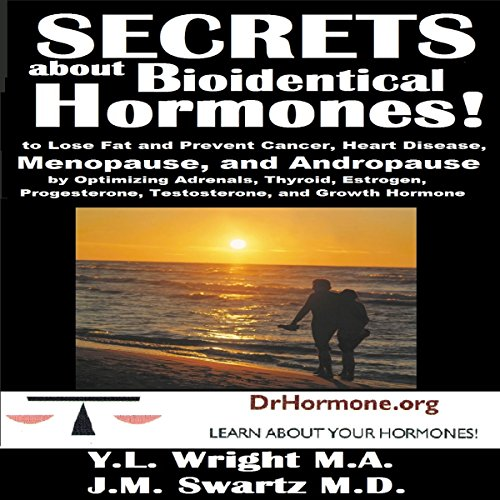 Secrets About Bioidentical Hormones audiobook cover art