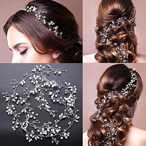 Modieuze haarspelden voor bruid, 1 m meisjes, haaraccessoires, dragen, clips, sieraden, hoofdtooi voor bruidsmeisjes